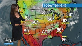 Weather Forecast for Tuesday, April 13
