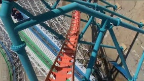 Guests rejoice after 'Thrill Capital of the World' Six Flags Magic Mountain reopens