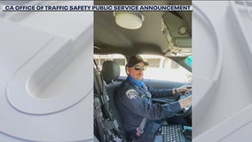 Local CHP officers create social media video to promote distracted driving awareness month