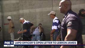 LAPD officer asking LeBron James for a sitdown after 'accountability' tweet