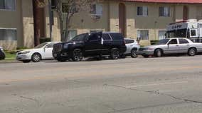 Mother of 3 children found stabbed to death in Reseda taken into custody, LAPD confirms