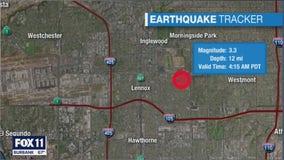 Series of earthquakes strike South LA