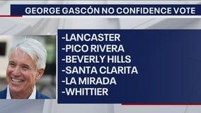 More LA County cities giving no confidence vote in DA Gascón's policies