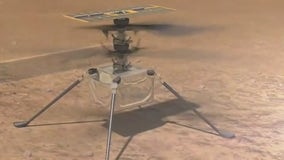 NASA makes historic 1st flight of Ingenuity helicopter on Mars