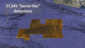 Barrels on sea floor may contain DDT