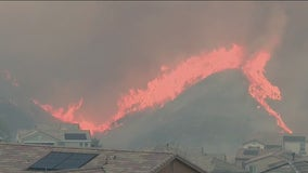 North Fire: Crews contain wildfire that sparked in Castaic