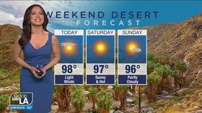 Weekend desert forecast for April 9 - 11