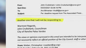 FOX 11 obtains emails from Rancho Palos Verdes city leaders discussing the Tiger Woods crash