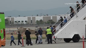First group of migrant children arrive in Long Beach