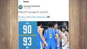 UCLA falls to Gonzaga in Final Four in OT heartbreaker
