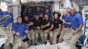 Welcome aboard! Crew-2 astronauts arrive at the International Space Station