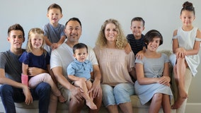 'They were ours': SoCal couple adopts 7 siblings after their parents die in car crash