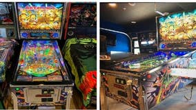 La Verne police searching for stolen custom Metallica pinball machine
