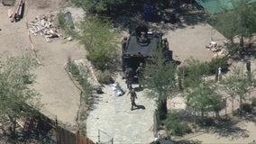 Suspect killed by deputies in shooting in Lake Los Angeles