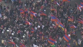 Thousands gather in LA to commemorate 106th anniversary of Armenian Genocide