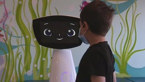 Meet the world's first emotionally intelligent hospital robot helping kids in LA