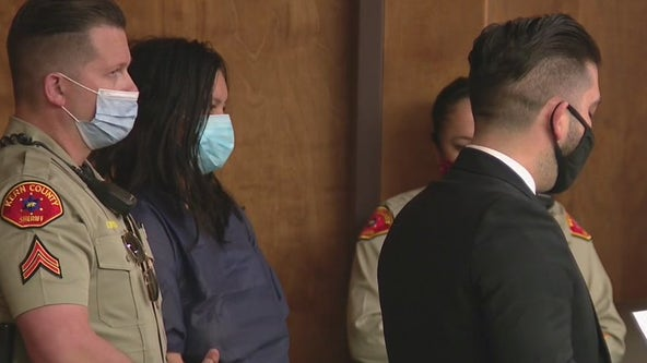 Reseda mother accused of killing her children appears in court for carjacking charges in Bakersfield