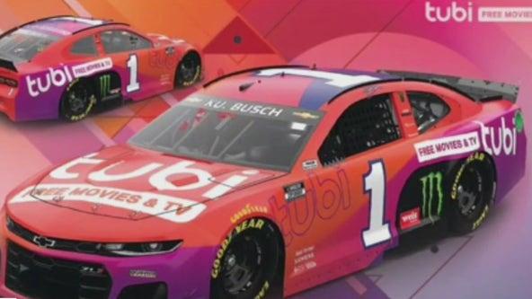 NASCAR Champion Kurt Busch Teams Up with Tubi Free Streaming Service