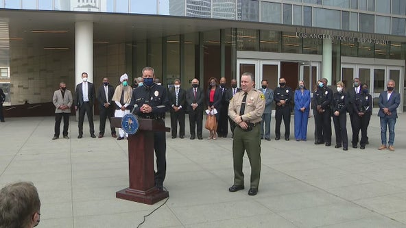 Community leaders, law enforcement urging Angelenos demanding justice to protest peacefully