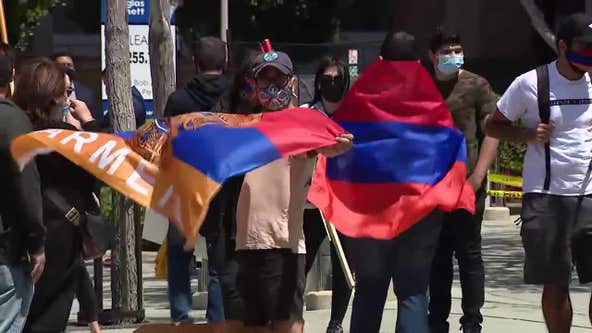 Community holds silent protest to demand release of Armenian POWs