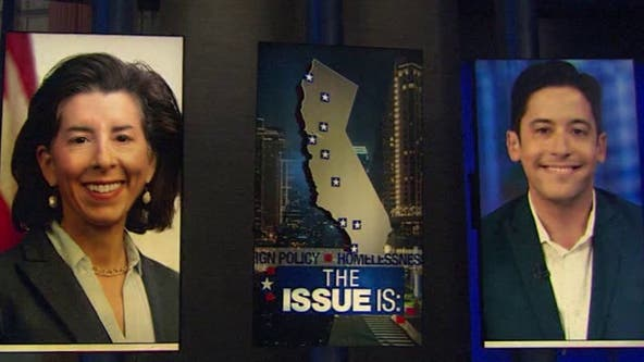 The Issue Is: Sen. Alex Padilla, Commerce Sec. Gina Raimondo, Michael Knowles