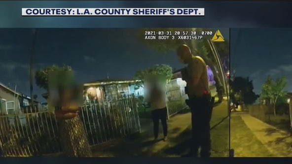 Isaias Cervantes: LASD body camera footage released showing shooting of man with autism