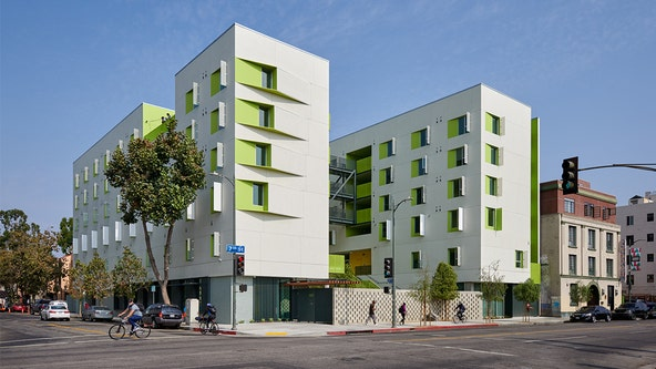 New supportive housing community for the homeless opens up in the heart of Skid Row