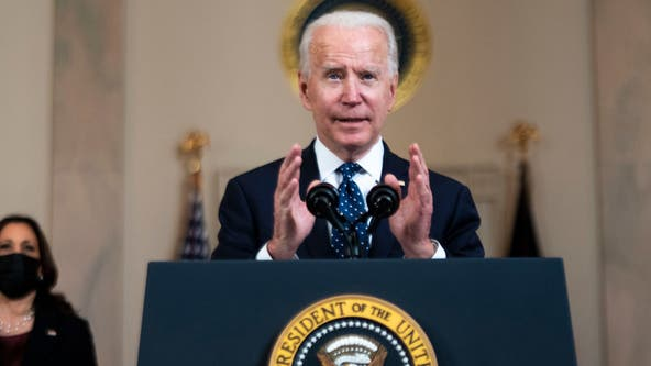 Biden announces tax credits for small businesses offering paid leave for COVID-19 vaccination