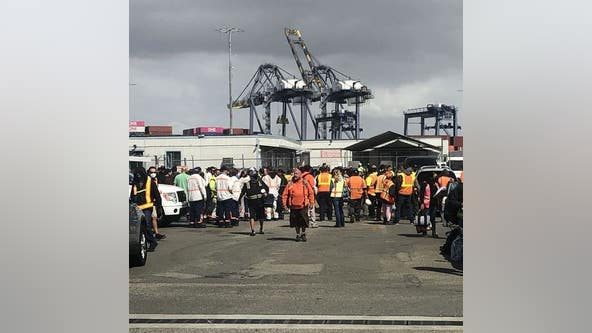 Port of Los Angeles terminal impacted by truck driver strike