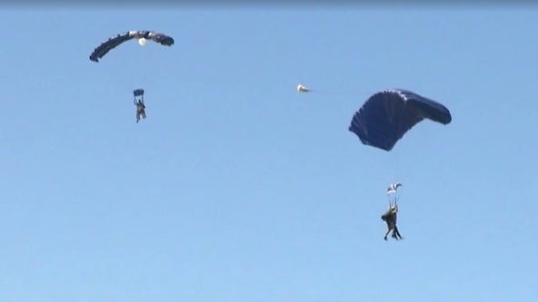 Woman in California dies after her parachute failed to fully open
