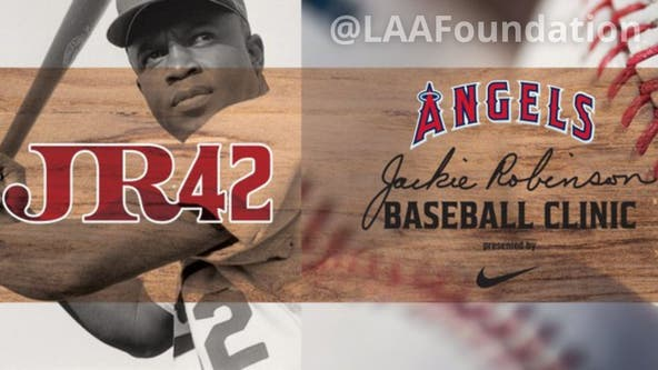 Los Angeles Angels to hold youth clinic on Jackie Robinson Day