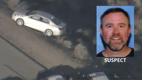 Man suspected of stabbing estranged wife to death in Santa Clarita leads deputies on chase, standoff