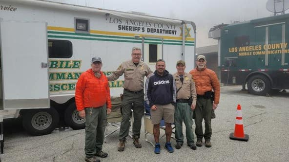 Hiker missing in Angeles National Forest found safe after community member pinpoints location from photo