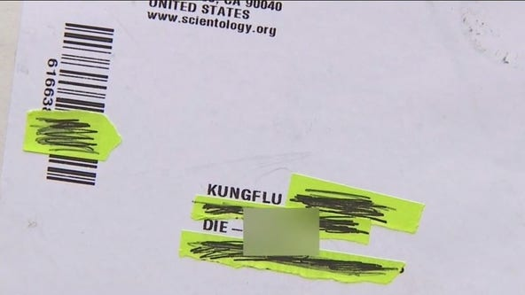 Torrance man receives mail with anti-Asian hate language on label