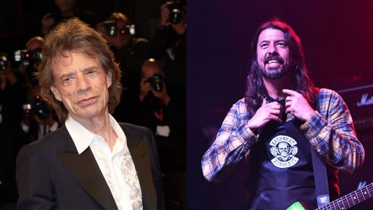 Jagger Grohl collage