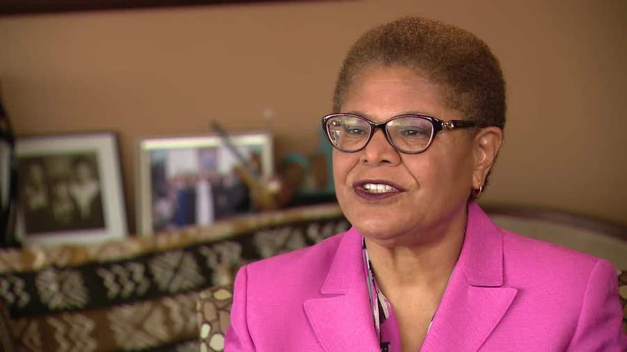 Digital Extra: Congresswoman Karen Bass on the social justice movement and George Floyd