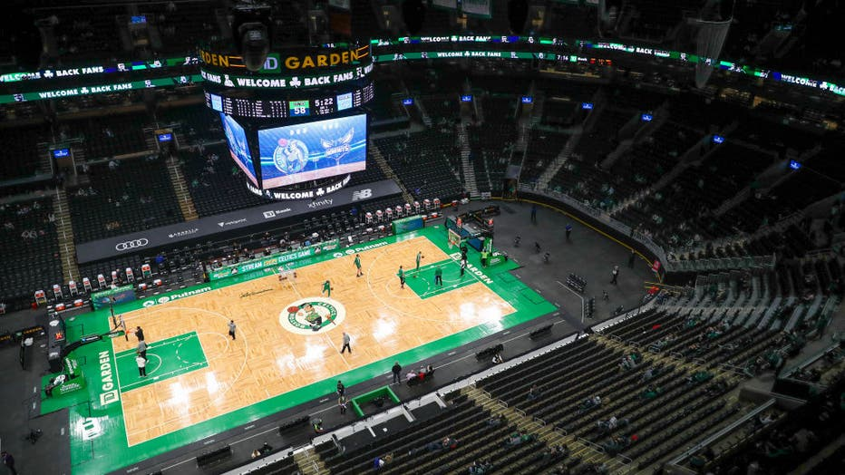 Charlotte Hornets v Boston Celtics