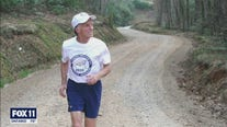 Ultra long distance runner embarks on run from LA to Washington DC