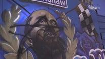 Nipsey Hussle mural vandalized