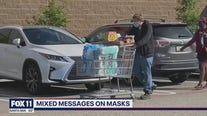 Businesses making decision on mask rules as they await California's decision