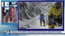 Record-setting explorer & mountaineer pens book about her explorations