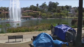 Echo Park Lake reopens following cleanup, homeless relocation
