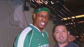 Inglewood police officer celebrates Celtics' Paul Pierce being named to Basketball Hall of Fame