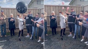 Gender reveal video shows frustrated father-to-be finding out baby -- will be a girl!