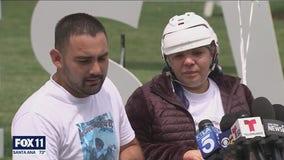 Sole survivor of Orange mass shooting leaves hospital