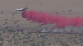Wee Vill: Crews stop forward progress of wildfire in Antelope Valley