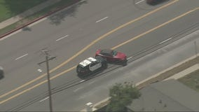Man arrested in West Covina after leading deputies on a pursuit in suspected stolen vehicle