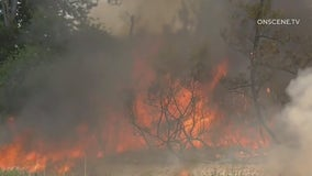 Lake Fire: Blaze that erupted in Santa Ana River bottom between Jurupa Valley and Riverside contained