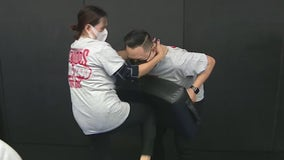 Former MMA fighter holds self-defense class for AAPI community amid surge in hate crimes