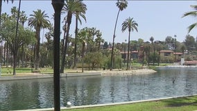 Crews removed 35.7 tons of solid waste from Echo Park Lake, including human waste, drug paraphernalia